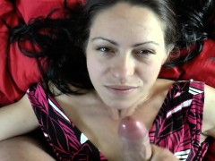 Spouse That Is Great Allows She Is Bathed By Him In Cum
