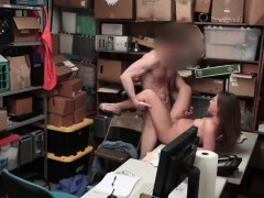 petite slut brooke bliss caught shoplifting