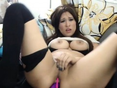 Shaking Orgasm With Dildo In Her Asshole