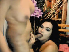 Two Shemale Babe Anal Sex On Cam