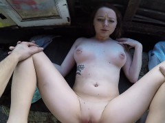 Leigh Rose Fucked In Train Cabin