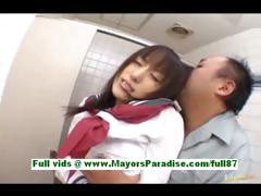 arisa-kanno-young-japanese-schoolgirl-in-the-bathroom
