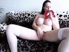 cute-brunette-is-very-big-boobs
