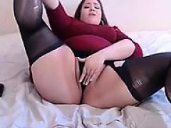 Bbw Plays With Sex Toys Solo