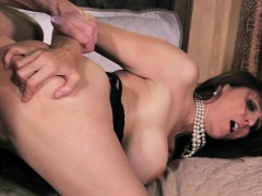 Glamorous milf doggystyled after sexy blowjob