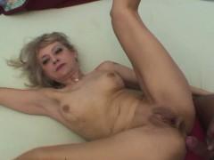 Blonde Stepmom Makes A Move On Her Stepson