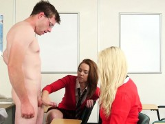 Cfnm Schoolgirls Wanking Teachers Cock