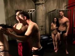 Swingers Enjoy Having Bondage Action In Reality