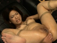 Cute Oriental Chick Gets Toys To Anal Gangbang Her Holes