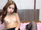 Teen Playing On Cam