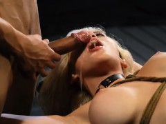 feet slave and extreme sperm play big-breasted blonde hotty