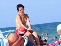 Topless Beach Dollin Spain