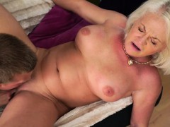 Anett Getting Her Old Antique Pussy Hammered By Joshua