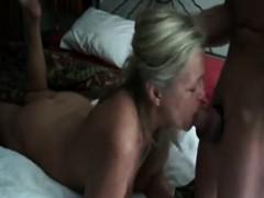 Milf Sucks Cock Of Younger Guy