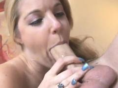 An Amateur Milf Blowjob Followed By Hot Fucking
