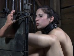 humiliated young slave caned into submission