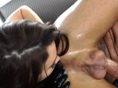 pussyfucked-femdom-makes-her-sub-spray-cum