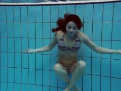 Big Bouncing Tits Underwater