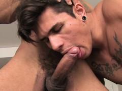 Brazilian Gay Flip Flop With Cumshot