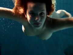edwiga-teen-russian-swims-in-clothes-at-night
