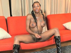 freaky-black-trans-spreads-ass-and-jacks-solo