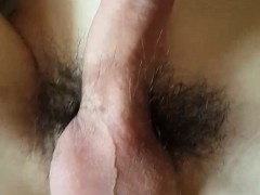 Chinese Teen Taking A Big White Cock