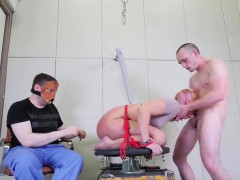 Slutty Chick Was Brought In Ass Hole Asylum For Harsh Therap