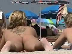 blonde model nudist on the nude beach voyeur video Hot