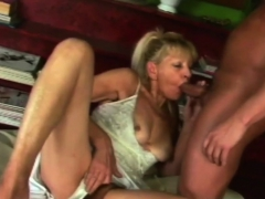Blonde Veteran Slut Has A Good Fuck At The Library