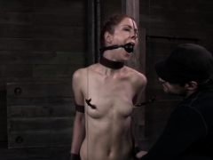 restrained-redhead-gets-dominated-over