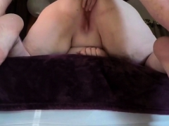 fat wife gets a hard twat pounding from behind