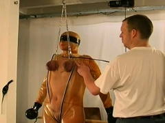 Tit Castigation Fetish Play For Tractable Dilettante Woman