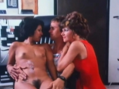 Classic Threesome With Pretty Milfs