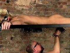 Gay Old Men Bondage Master Kane Has A Fresh Toy, A Metal