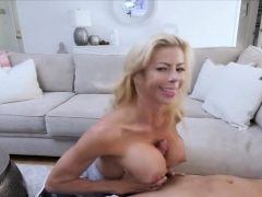 Stepsons Cock Is Just An Afternoon Snack For This Milf