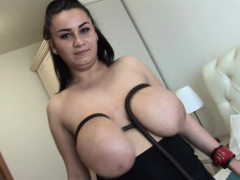 Helen Star Busty Babe Slapping Her Huge Tits And Ass