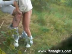 blonde-teen-doing-it-outdoor