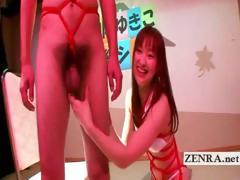 japan cfnm penis play and sexy bondage by yukiko suo