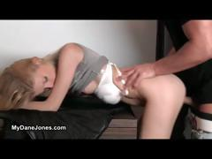 sexy blonde teen loves riding a massive cock part6