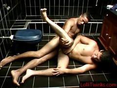 Denis And Jean Having Some Hardcore Gay Sex In The Bathroom