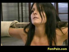 Angie Tied Tight And Tormented