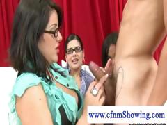 cfnm-host-enjoys-and-plays-with-cum