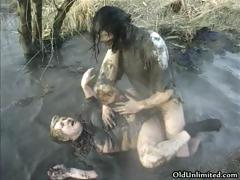 dirty-old-mom-covered-with-mud-gets-part5