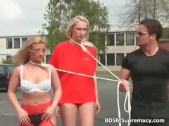 two-hot-blonde-girls-are-on-a-leash-part5