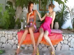 two-russian-lesbian-schoolmates-dildoing