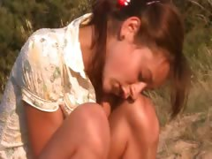 gentle-natasha-teen-naked-on-the-beach