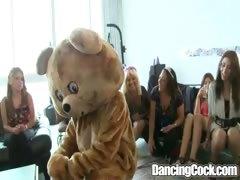 bachelorette loft party on dancing dick