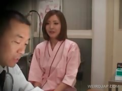 shy-asian-redhead-gets-boobs-checked-at-the-doctor