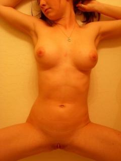 Teen chav slut nude selfies - cute sort shows off her shaven
