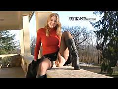 Blond Britney Uspkirt
